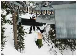Nackt im Skiurlaub