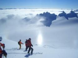 Nebel im Skiurlaub
