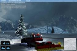 Schneeraupen Simulator