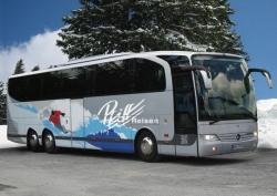 Mit dem Bus in den Winterurlaub