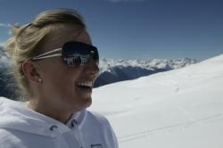 Sonnenbrille im Skiurlaub