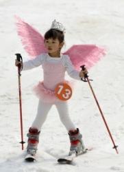 Karneval auf Skiern