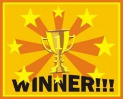 Sieger im Blogger Gewinnspiel